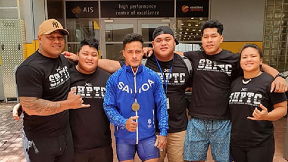 Ausiisii a Samoa na tauva i le Australian Open