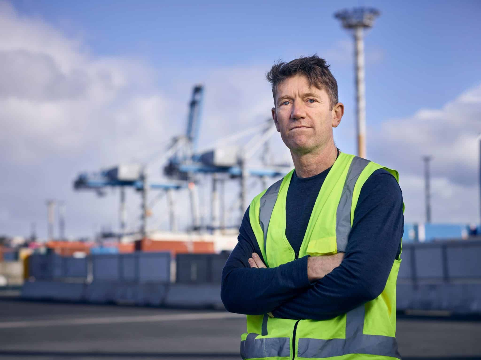 Matt Ball, General Manager of Public Relations and Communications at Ports of Auckland
